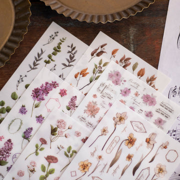 Loidesign autumn transfer sticker set