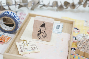 (Pre-order) Black Milk Project Rubber Stamp - Cat stack