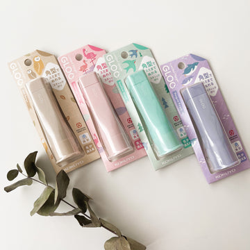 KOKUYO Gloo Glue Stick - limited pastel colour