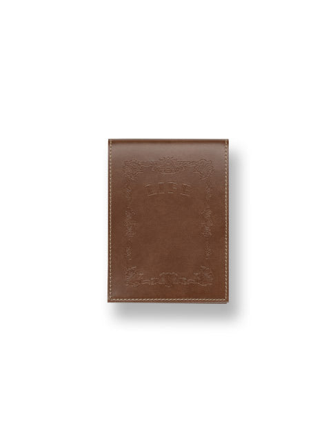 Life Noble memo with brown cover