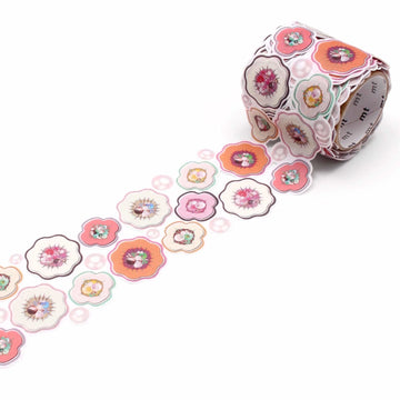 MT Fab Washi Tape Flower and Pearl