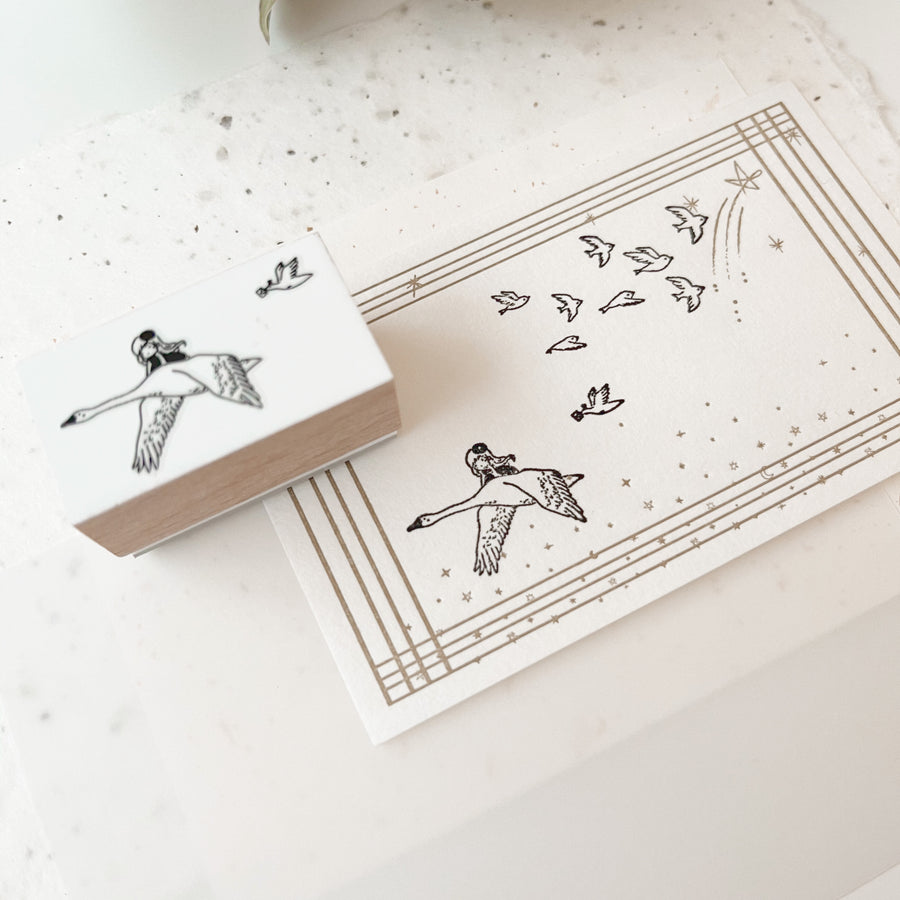 B.Book Rubber Stamps - Somewhere I Have Never Travelled
