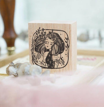 (Pre-order) Black Milk Project Rubber Stamp - Marigold