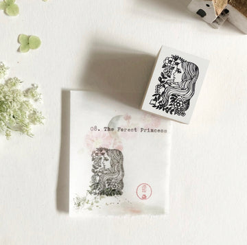 niconeco x Ryoko Ishii Collabration Rubber Stamp - The Forest Princess