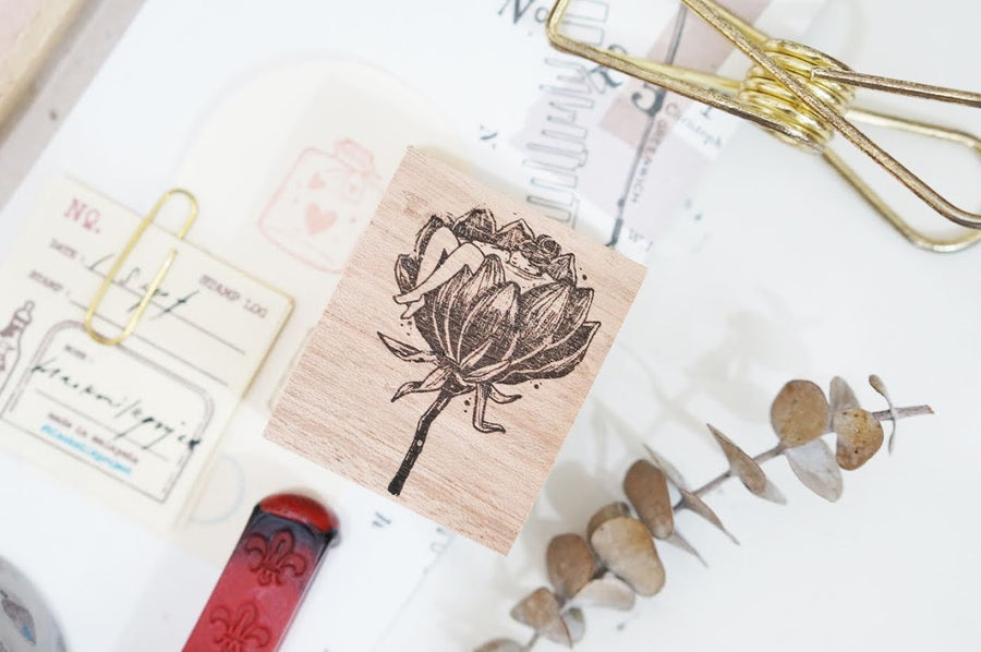 (Pre-order) Black Milk Project Rubber Stamp - Flora Tub
