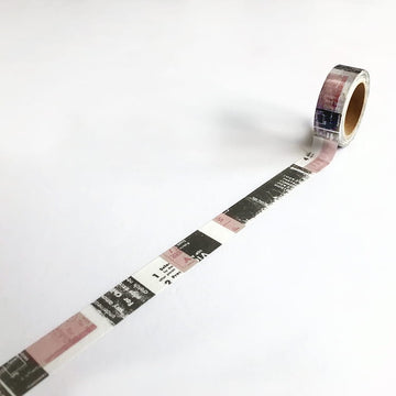 YOHAKUヨハク Collage Washi Tape - 711 (Limited edition)