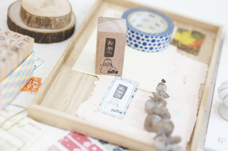 Black Milk Project Rubber Stamp - Oyatsu (Vertical)
