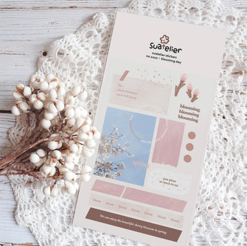 Suatelier Sticker Sheet - Blooming day