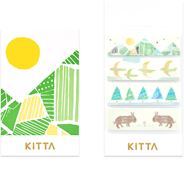 Kitta Basic washi tape - Mountain