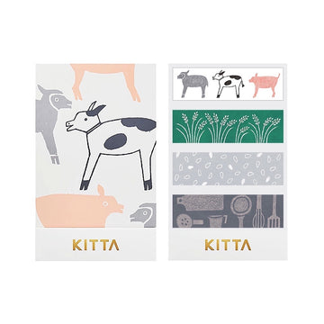 Kitta Basic washi tape - Farm