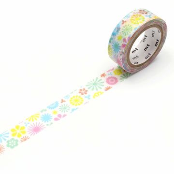 MT Ex Washi Tape Spring Pattern