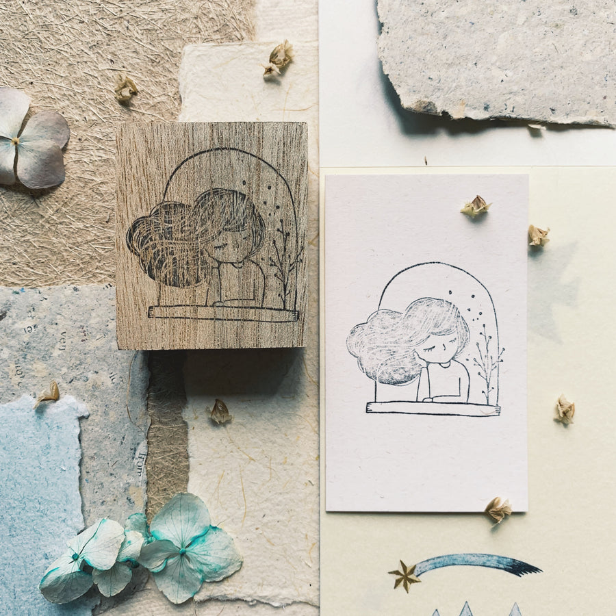 Black Milk Project Rubber Stamp - Daydream