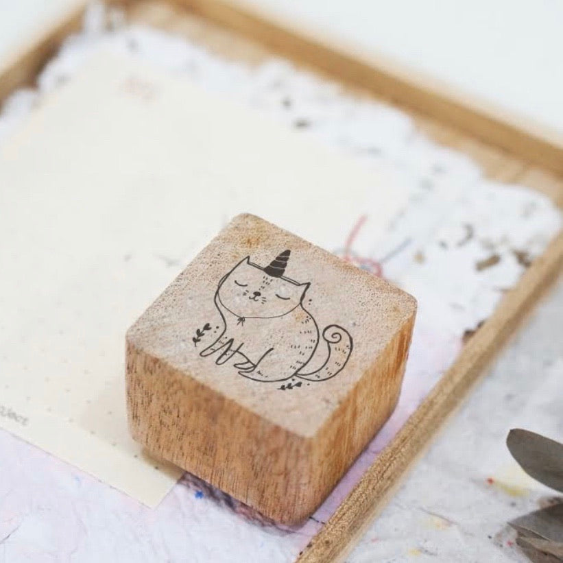 Black Milk Project Rubber Stamp - Catnicorn
