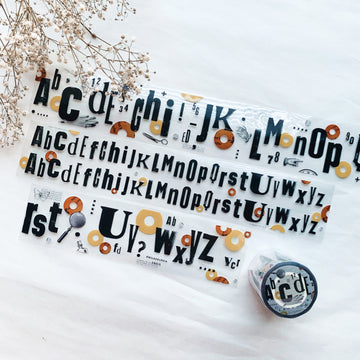 MooKA Studio Alphabet pet tape