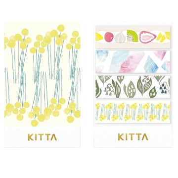 KITTA x moogy Seal Washi Tape- KITX001  Hanauta