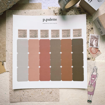P.Pelette Fall palette Index stickers