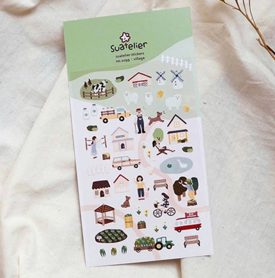Suatelier Village Sticker Sheet