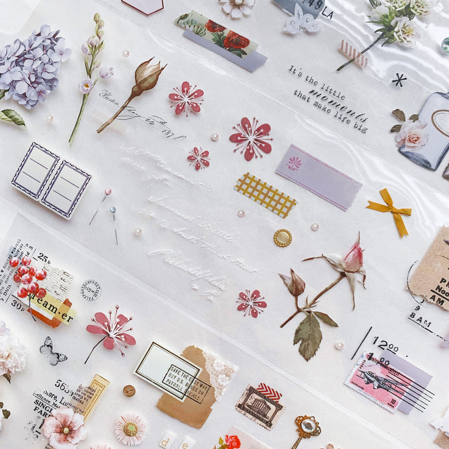 MooKA Studio flower talk pet tape