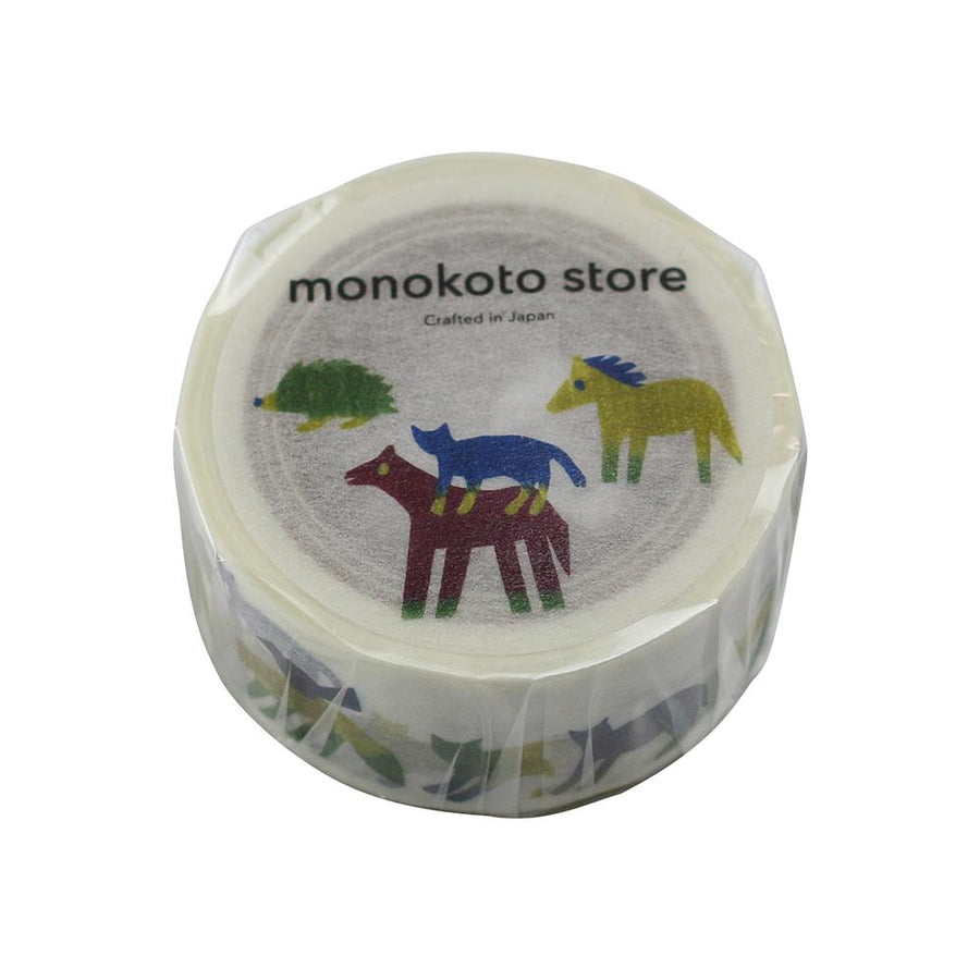 Monokoto store x Anone Na-Ni Washi Tapes - Animal