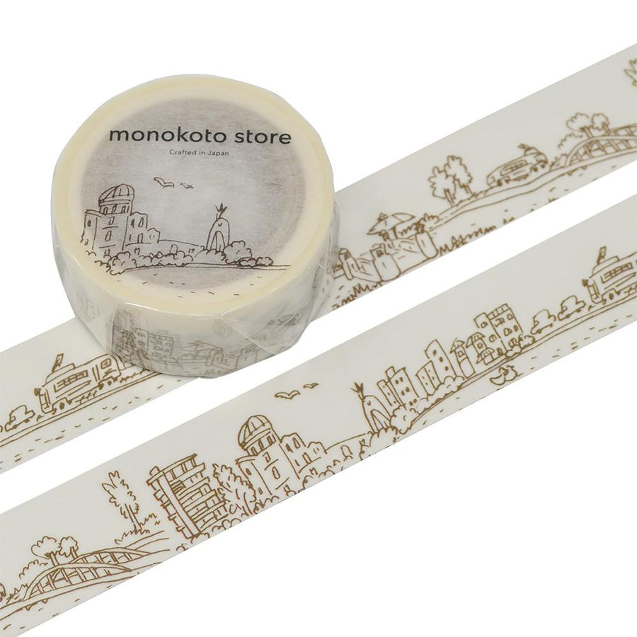 Monokoto store x Seiko Sketch Washi Tapes - (City Scene)