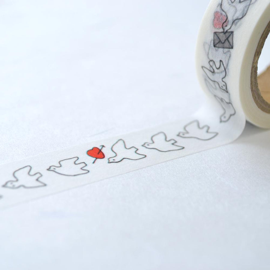 Monokoto store x Yuko Kajikawa Washi Tapes - (Peace Bird)