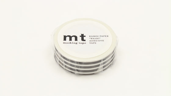 MT border black washi masking tape