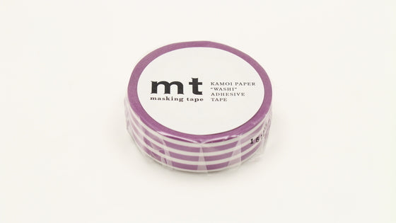 MT border grape washi masking tape