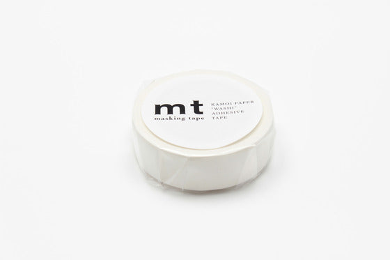 MT Matte White Washi Masking Tape