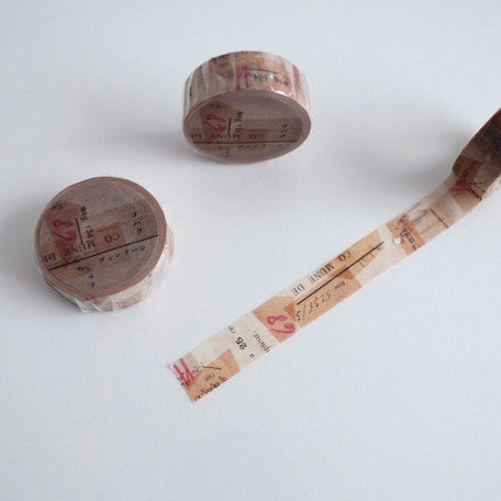 YOHAKUヨハク Collage Washi Tape - 035 Vintage
