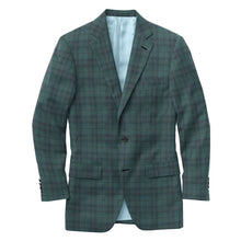 Load image into Gallery viewer, Green Blue Plaid Suit