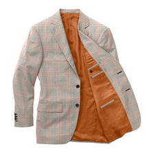 Load image into Gallery viewer, Pearl Grey Pink Check Blazer