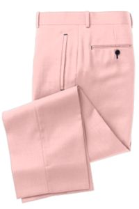 Pink Solid Pants