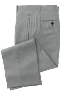 Pearl Grey Solid Pants