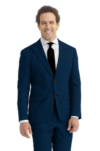 Navy Solid Suit
