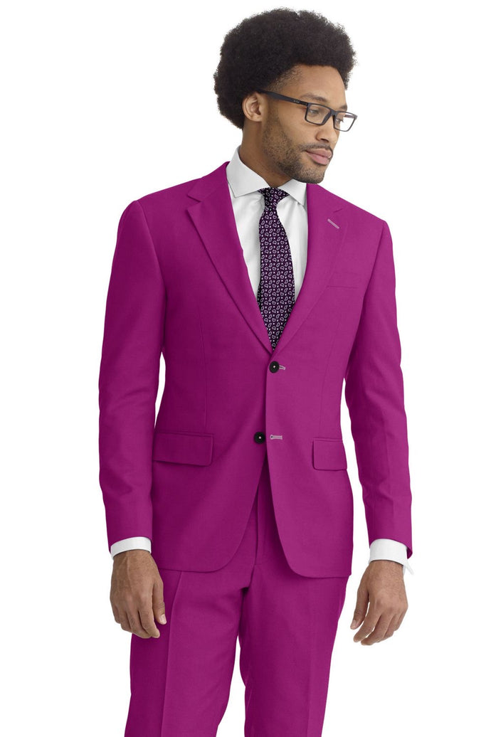 Fuchsia Solid Suit
