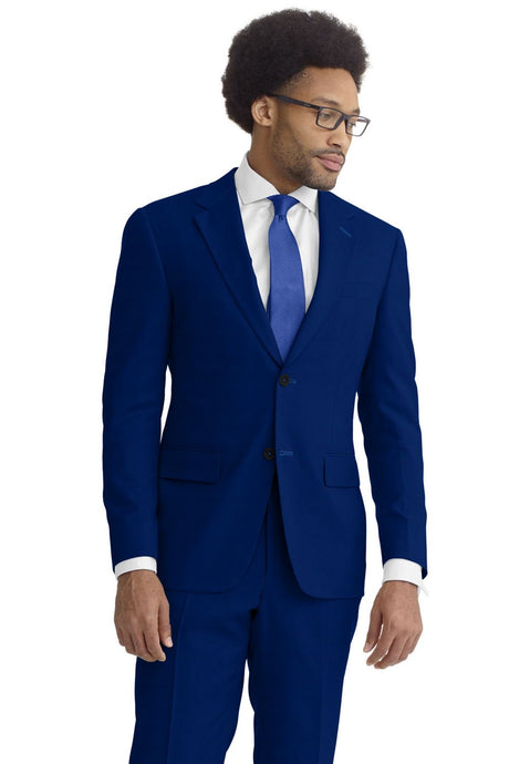 Admiral Blue Solid Suit