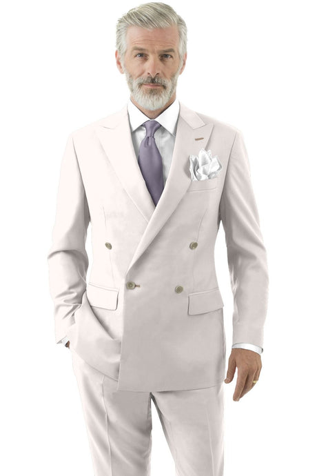 Ivory Solid Suit
