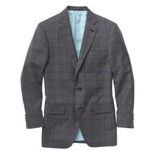 Load image into Gallery viewer, Grey Cobalt Check Suit