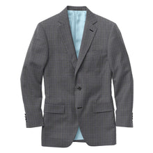 Load image into Gallery viewer, Blue Grey Chalkstripe Check Suit