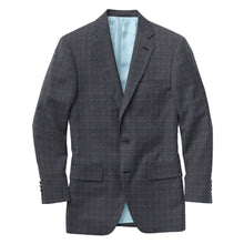 Load image into Gallery viewer, Grey Blue Check Suit