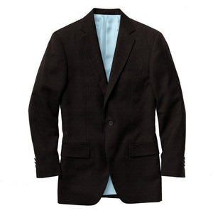 Black medallion luxury blazer
