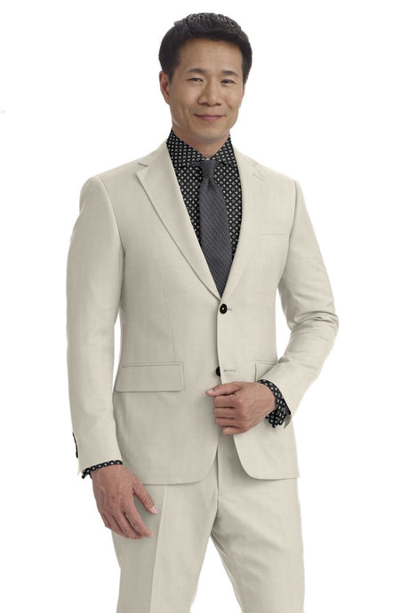 White Houndstooth Suit