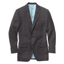 Load image into Gallery viewer, Charcoal Wine Glen Plaid Suit