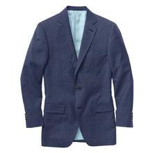 Load image into Gallery viewer, Navy Wine Glen Plaid Suit