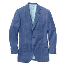 Load image into Gallery viewer, Blue Lt Blue Chalk Stripe Suit