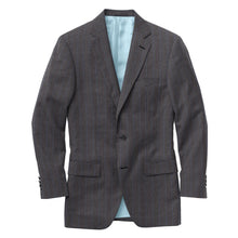 Load image into Gallery viewer, Charcoal Blue Chalk Stripe Suit