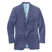 Load image into Gallery viewer, Marine Blue Sharkskin Suit