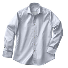 Load image into Gallery viewer, Blue Herringbone Shirt