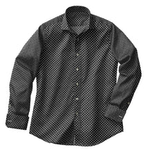 Load image into Gallery viewer, Black Cross Medallion Shirt