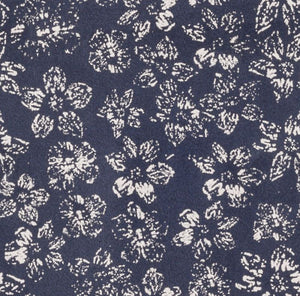 Navy Ivory Floral